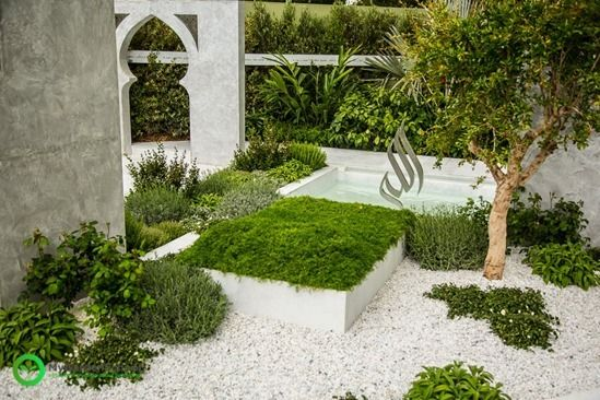 The Beauty of Islam Garden, designed by Kamelia Bin Zaal, Chelsea ...