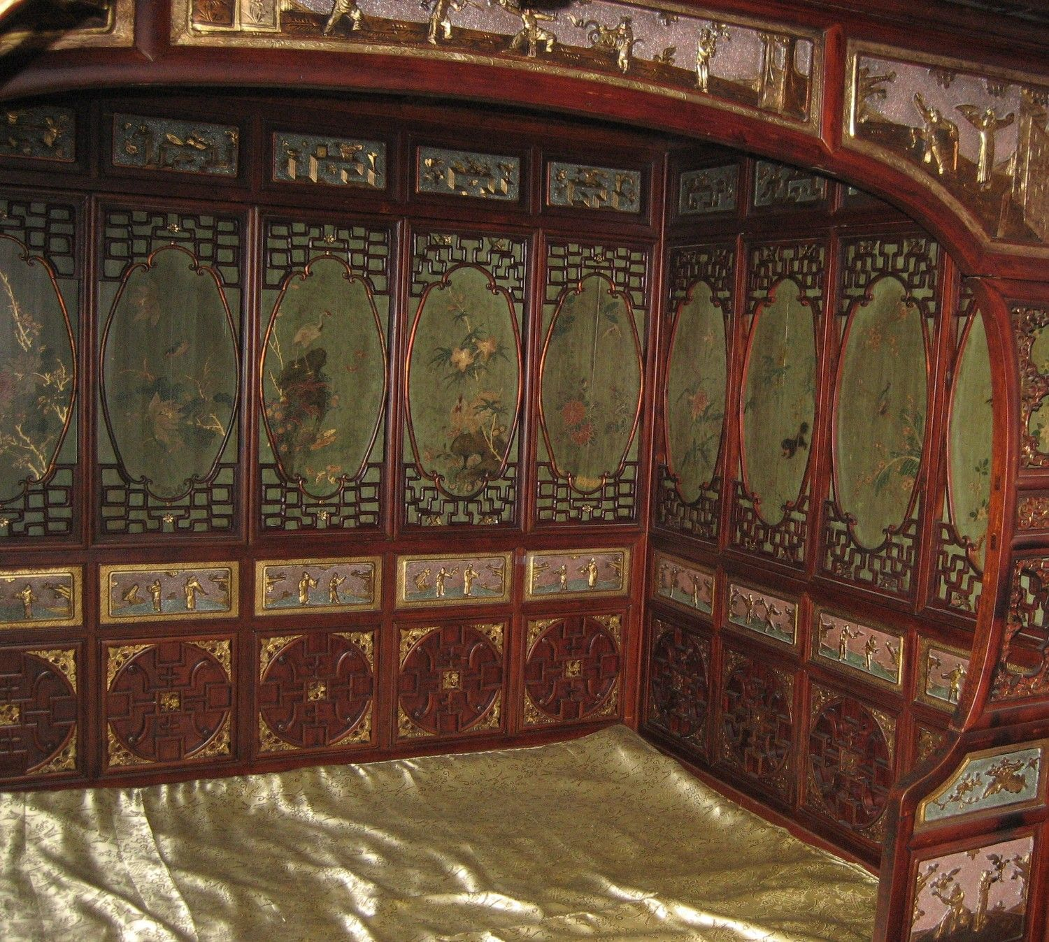 Japanese Canopy Bed Ancient Chinese Bed Platform Asian Canopy Bed