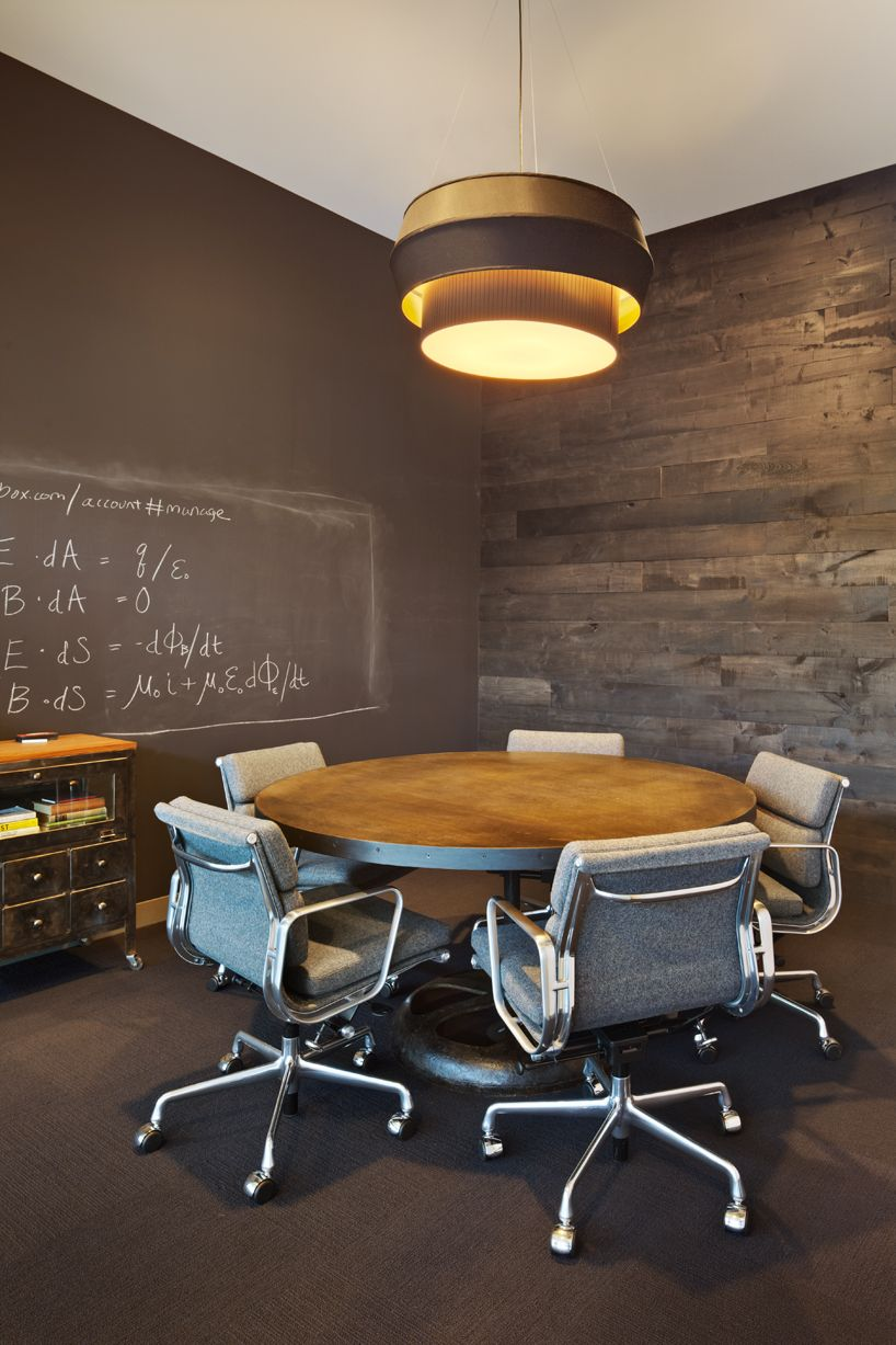 small round office table. Dropbox San Francisco Office By Boor Bridges + Geremia Design | Chalkboard Walls Within Collab/. Round TableOffice Table DesignSmall Small .