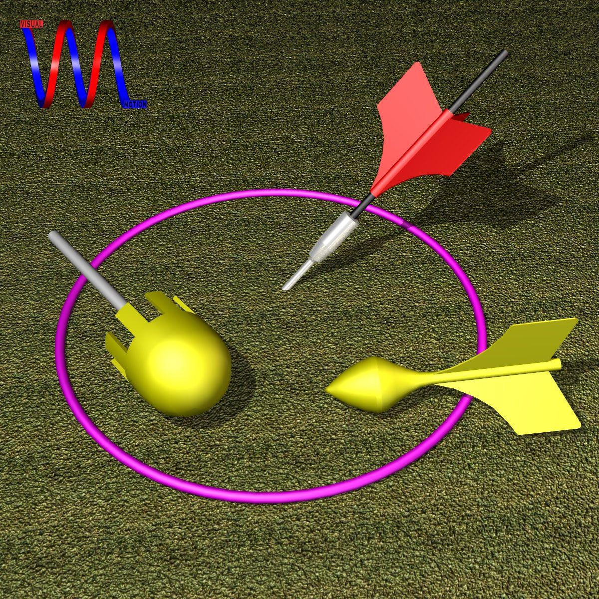 Lawn dart set d model latest d models pinterest model dart