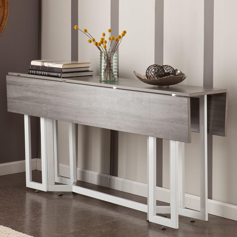 Southern Enterprises Ess Konsolentisch Holly Martin Driness Platzsparender Tisch Platzsparender Esstisch Tisch