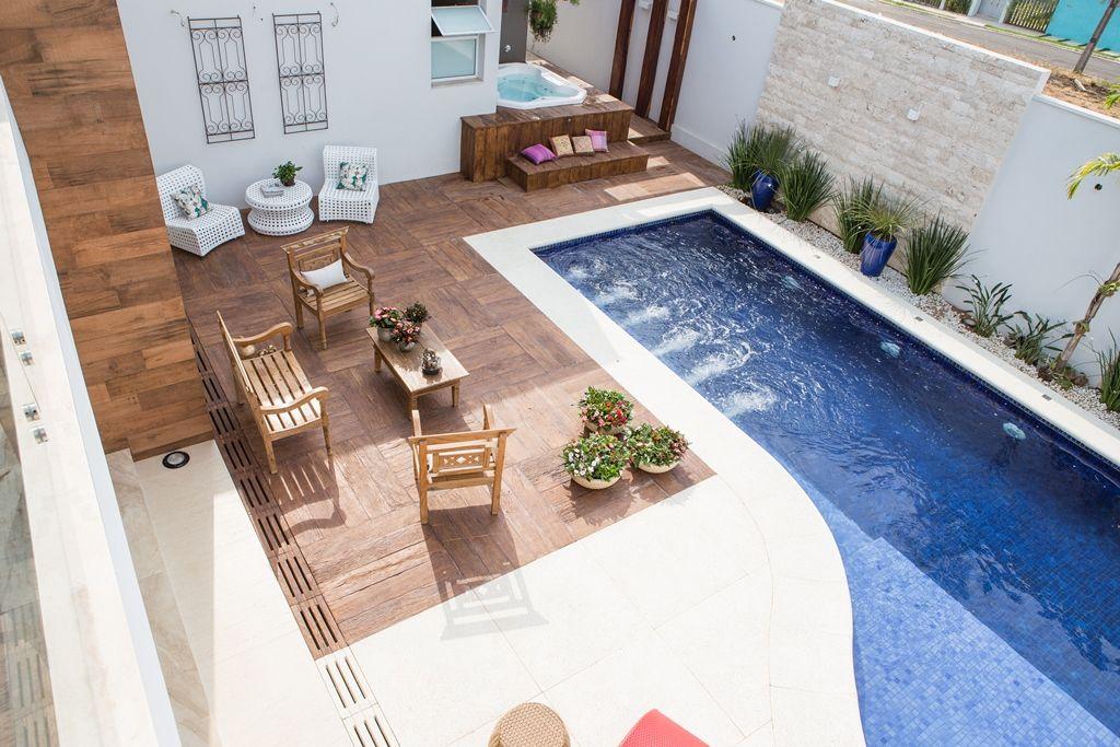 Rea de lazer piscina e spa projeto aceanga vit ria for Pisos com vitoria
