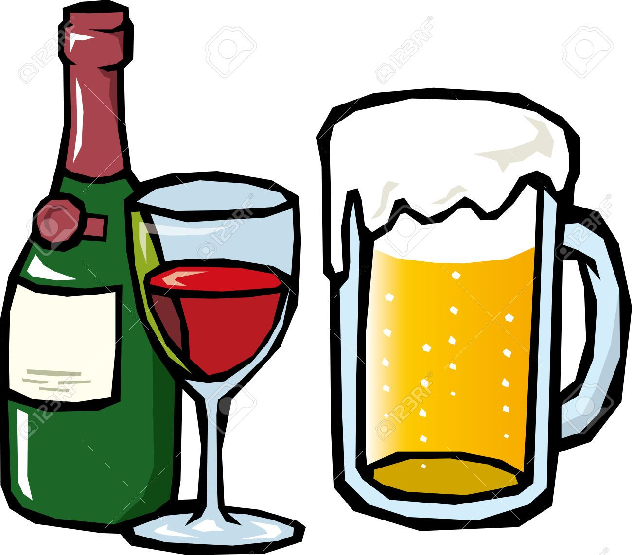 small resolution of beer clip art black and white free clipart images 3