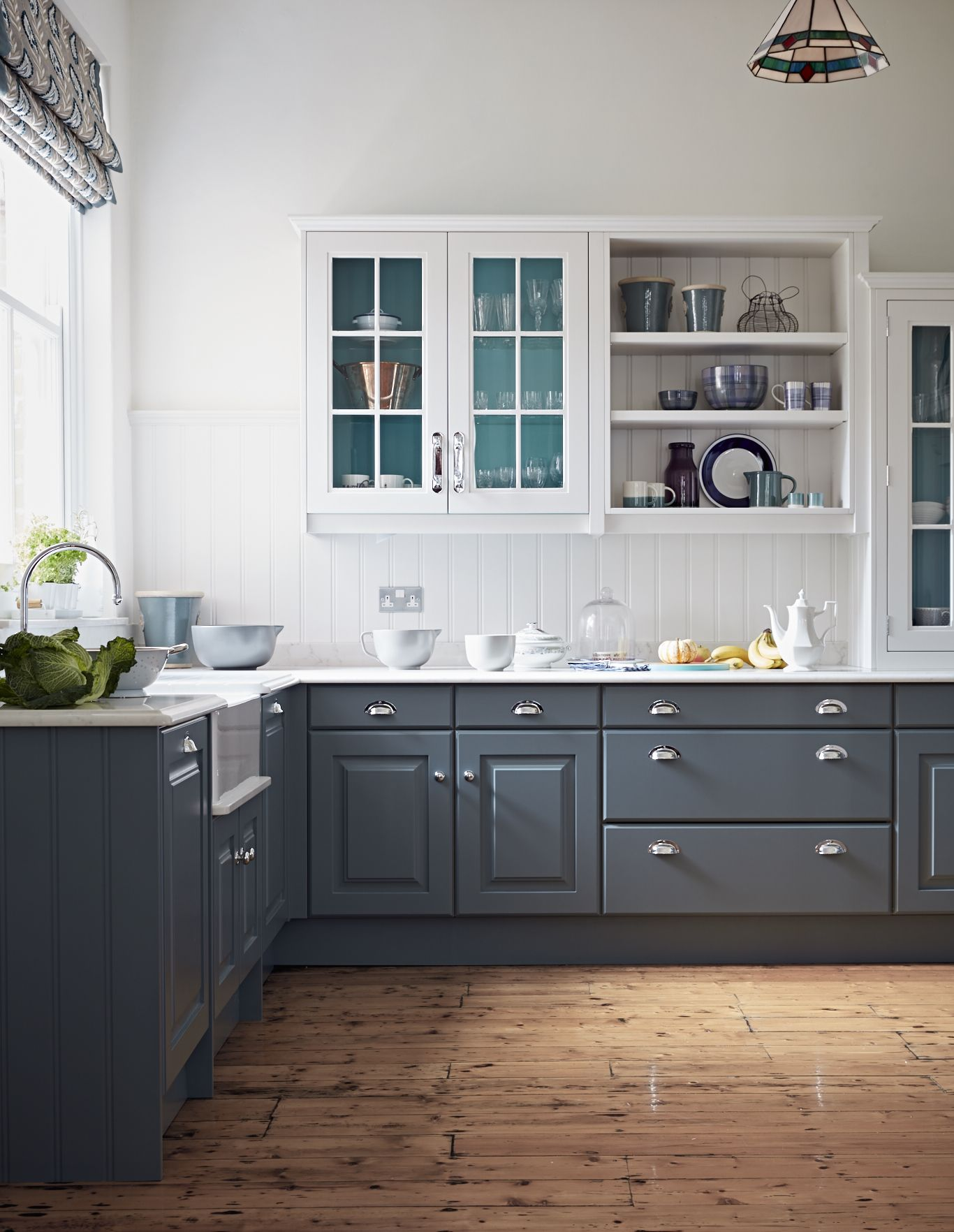 pin by john lewis of hungerford on blue kitchens kitchen cabinets color combination kitchen on kitchen cabinets color combination id=20522