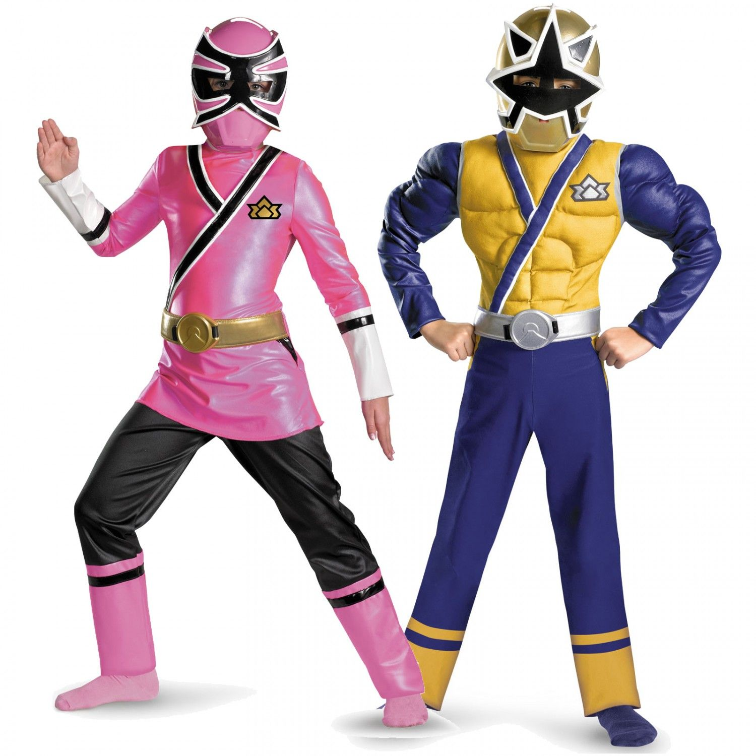 Power Rangers Costumes Old and Pink | Power Rangers Birthday Party ...
