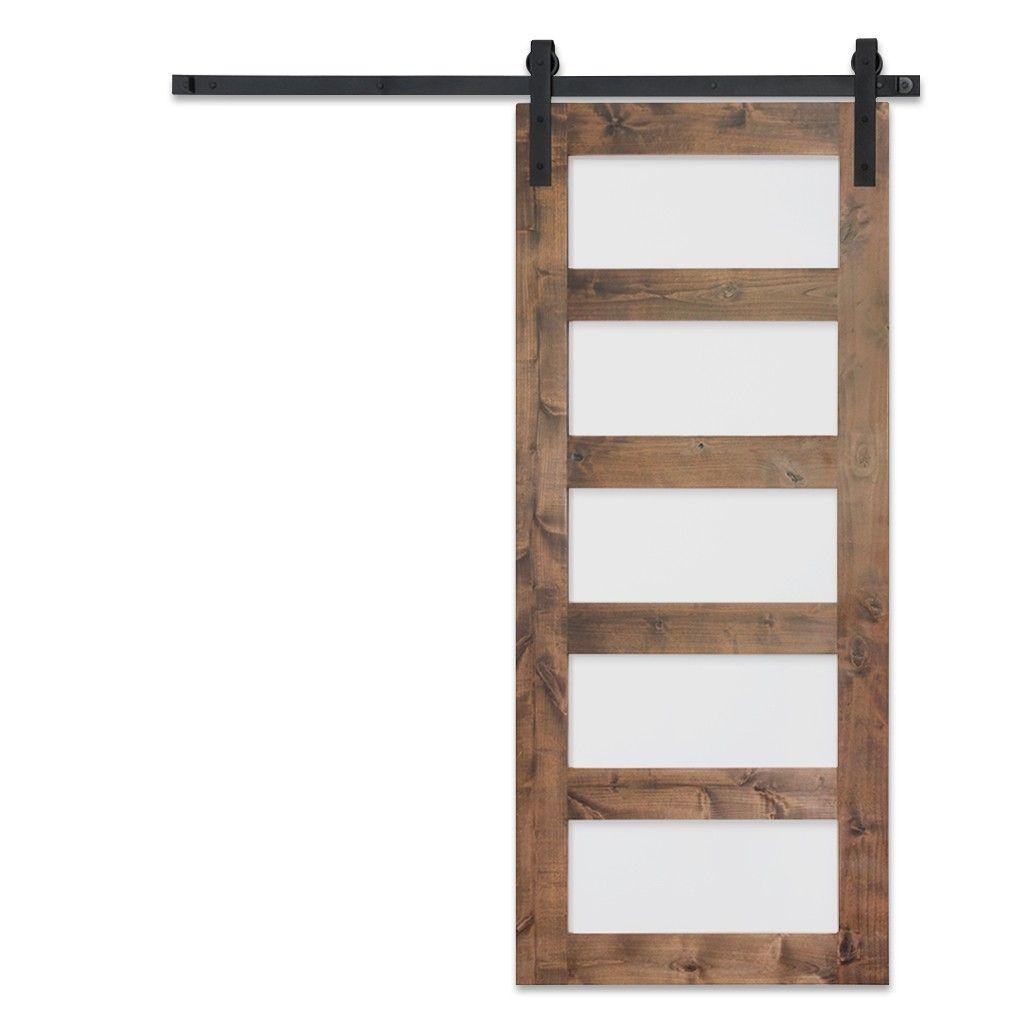 5 Panel Glass Barn Doors For Perfect Artisan Hardware With Images Glass Barn Doors Barn Doors Sliding Barn Style Doors