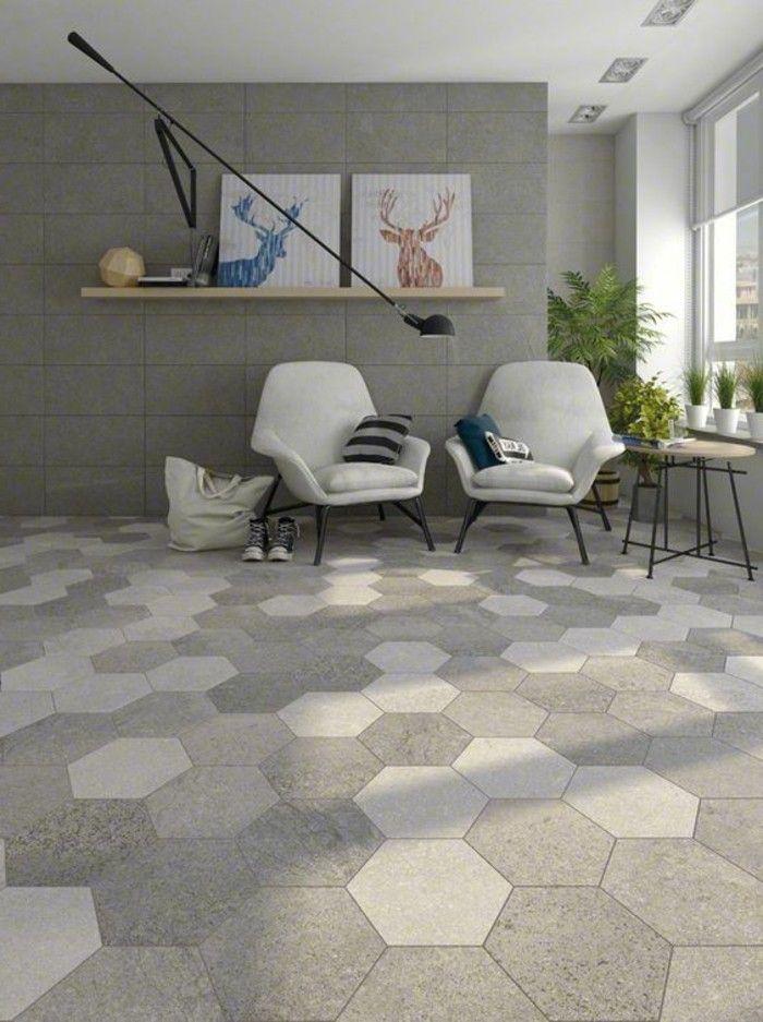 Le Carrelage Hexagonal Une Tendance Qui Fait Son Grand Retour - Carrelage hexagonal sol