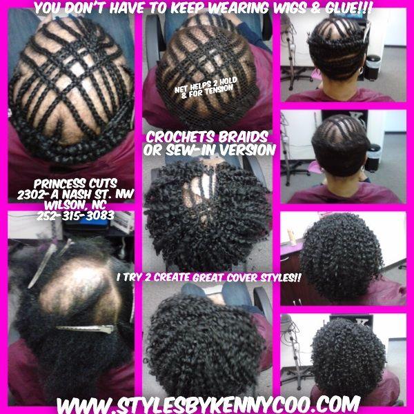 Crochet Braids 2 Cover Alopecia Www Stylesbykennycoo Com Www