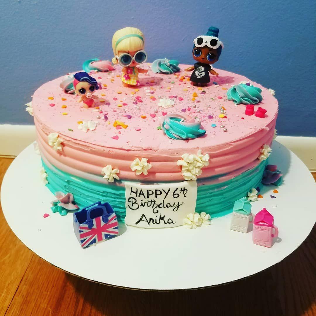 Lol surprise doll cake birthdaycake birthday