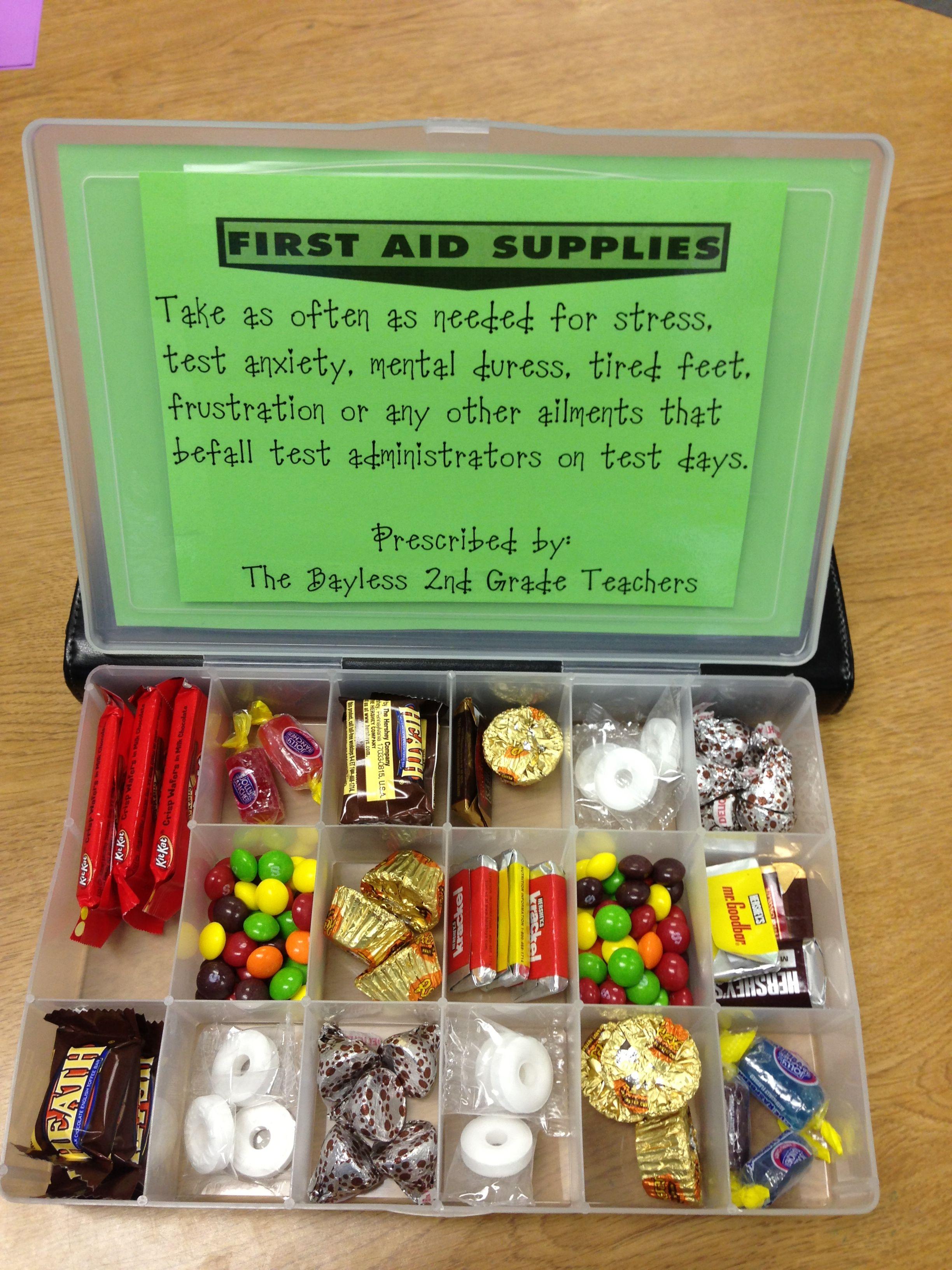 STAAR TEST emergency kit | Things I've done | Teacher ...