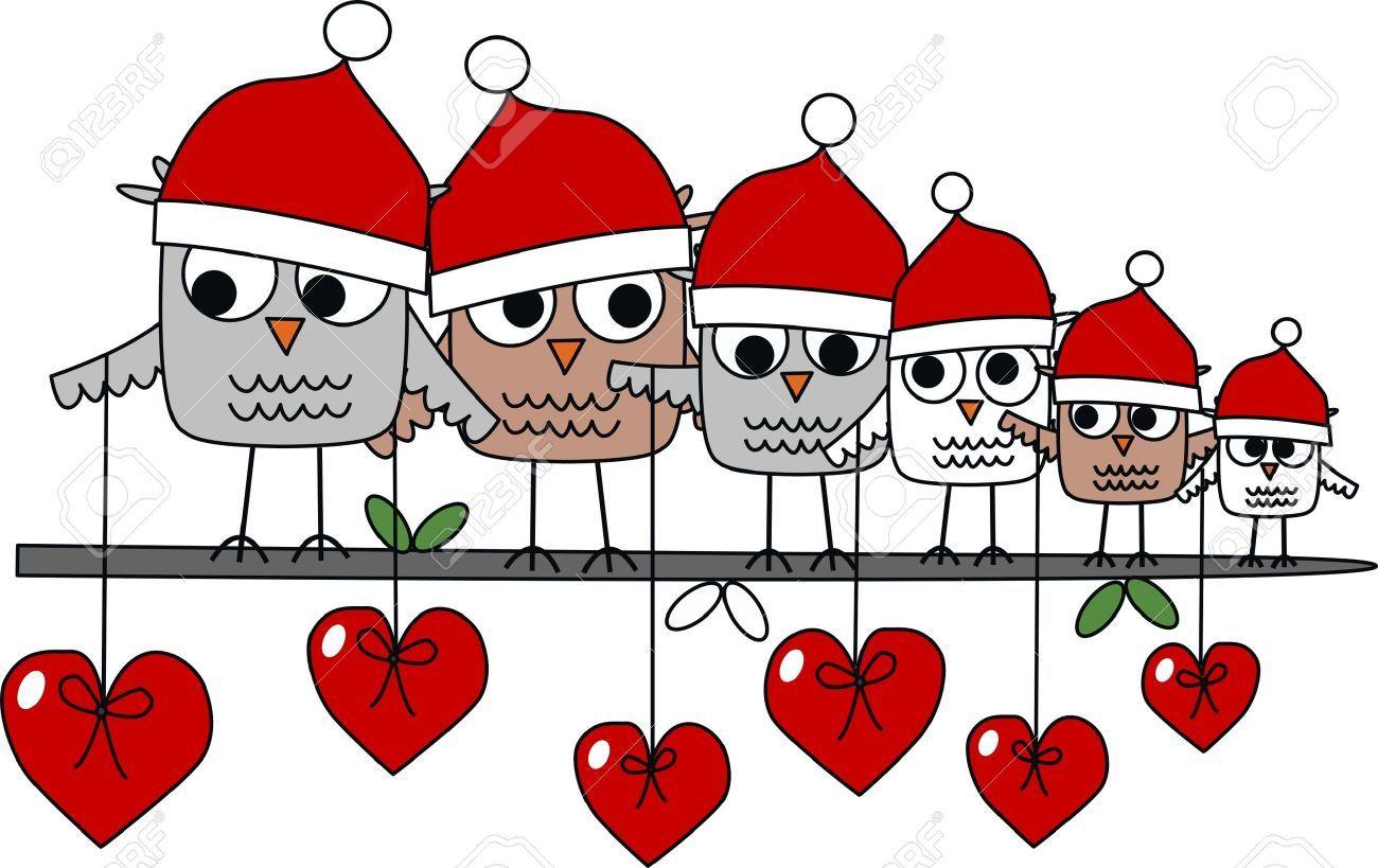 Christmas Header Clipart.Stock Photo Gufi Banner E Creativo