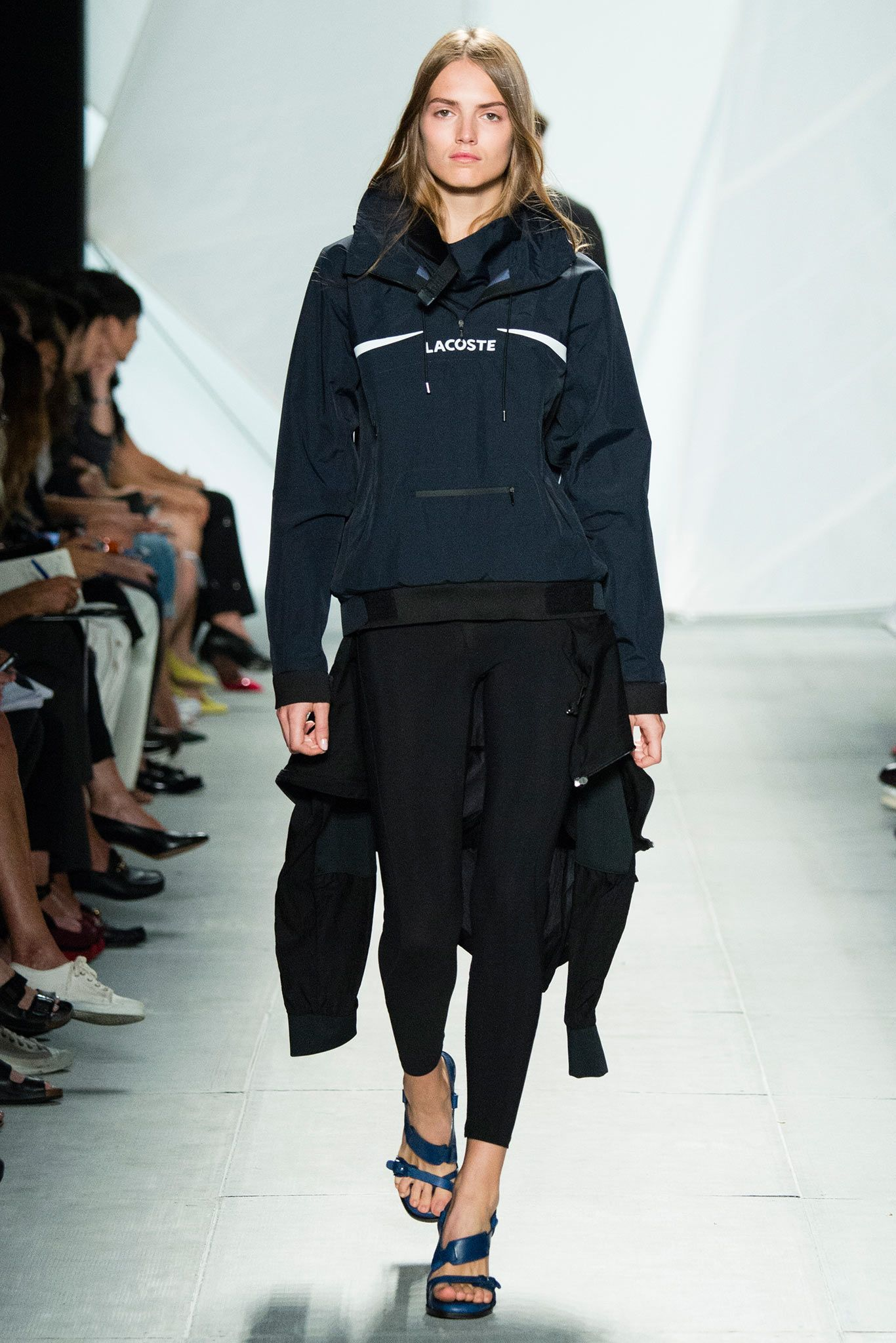 There were a couple pieces that almost did it...but not quite for me; However, I do think this jacket looks perfect for Canadian fall weather! Lacoste S/S15 #ss15 #nyfw