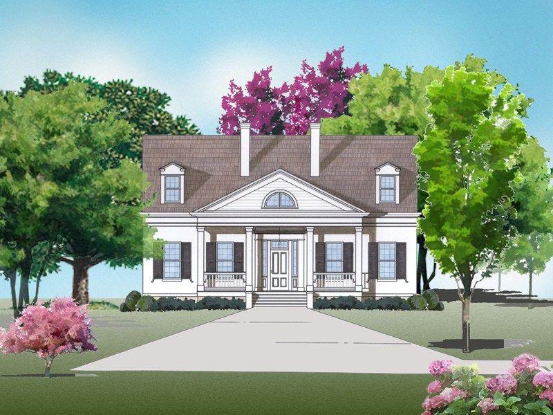 Twin Oaks DE009 House Plan Designers