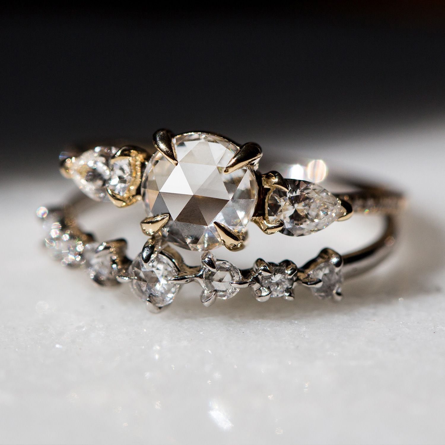 Snow Queen Diamontrigue Jewelry: Engagement Rings Opal, Queen Rings