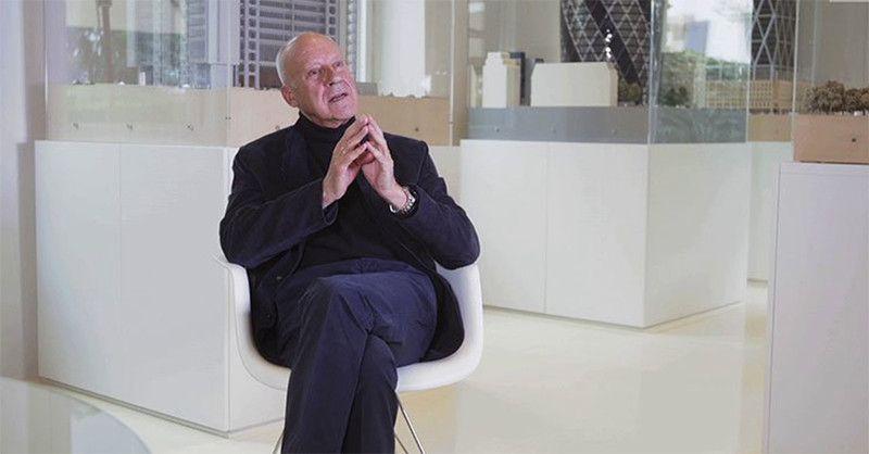 """Norman Foster aconselha jovens arquitetos: """"Encontre algo em que você acredite"""""""