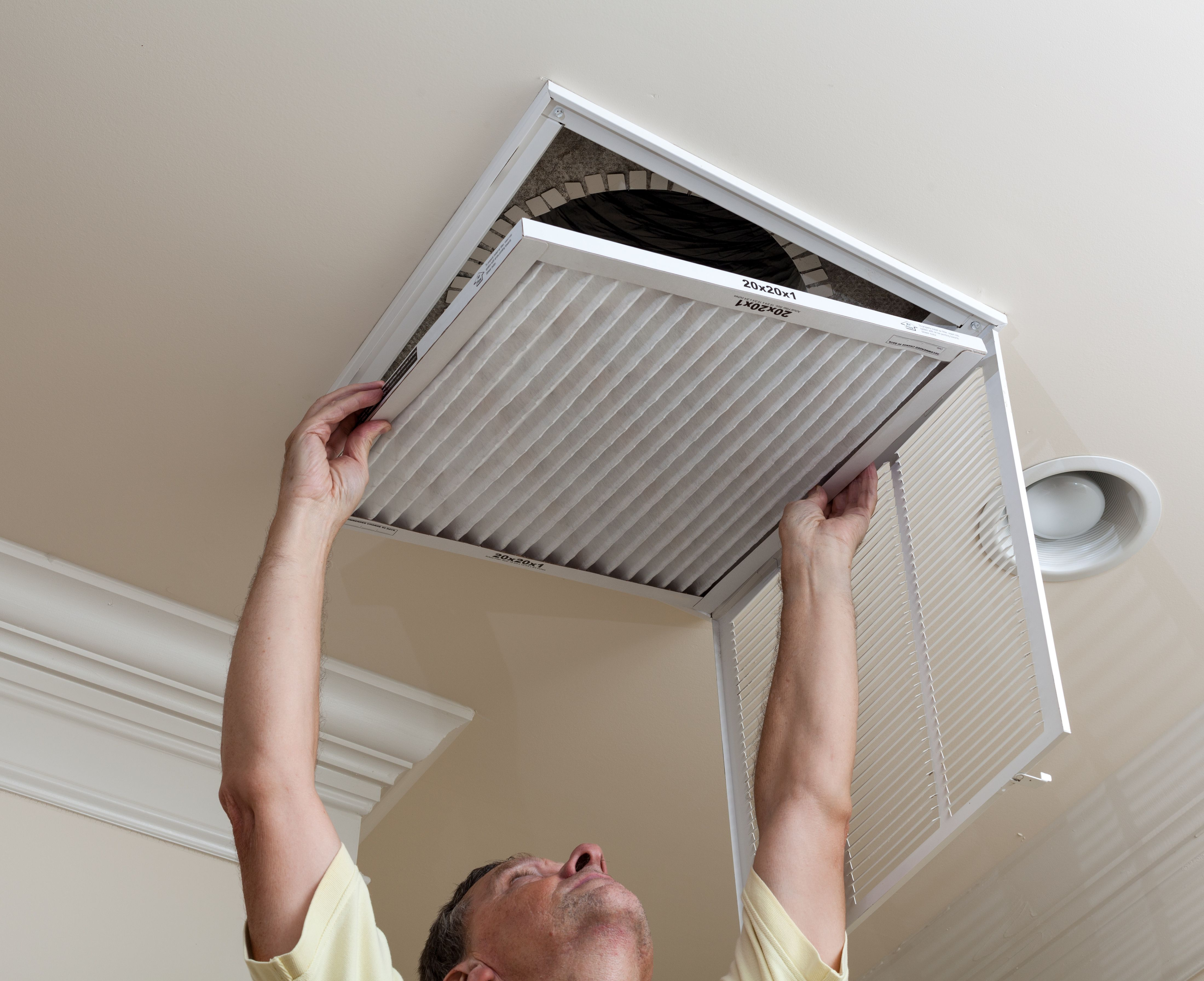 At Barron S Heating Air We Continually Strive To Exceed Expectation By Ensuring That Each Client Recei With Images Air Conditioning Repair Duct Cleaning Clean Air Ducts
