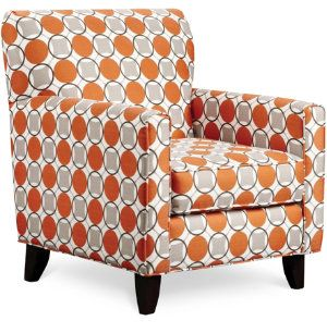Orange Pattern Chair Google Search Spaces Pinterest