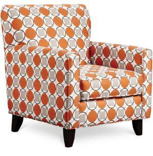 Orange Pattern Chair   Google Search