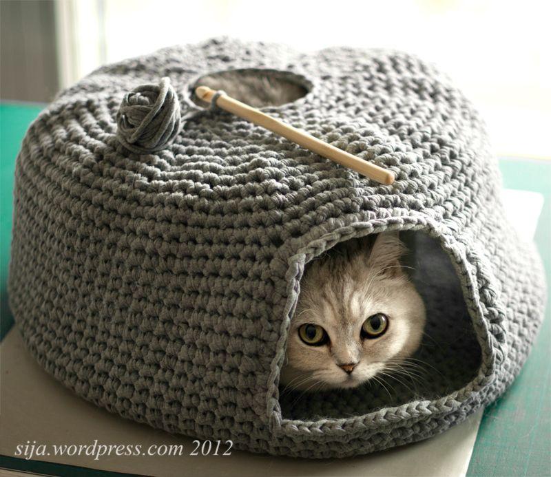 Kattenmand Crochet Pets Crochet Crochet Animals Knitting