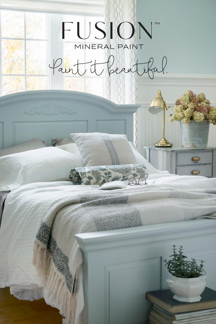 Home Revival Interiors Painted Bedroom Furniture Bed Makeover Diy Furniture Bedroom