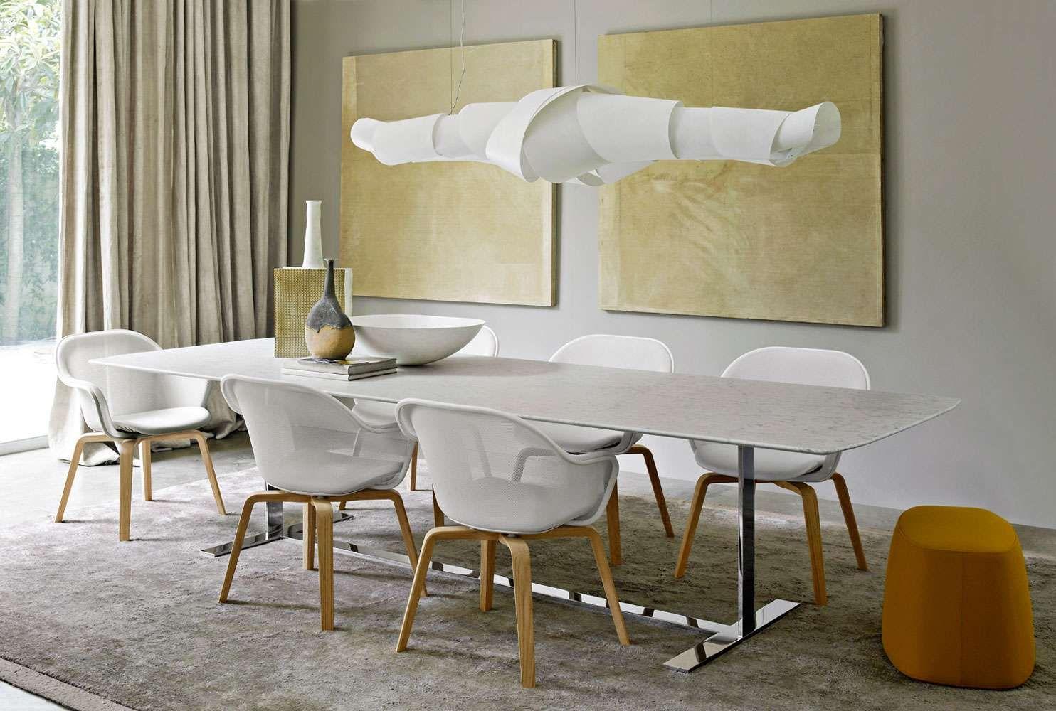Luta '14  B&b Italia  H&h Dubai  Furniture  Dining Chairs Amazing Dining Room Furniture Dubai Decorating Inspiration
