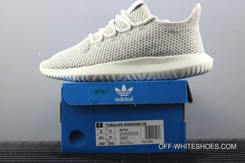 c2f361767a95 Women Men Outlet Adidas Tubular Shadow Grey One F17 Cloud White Raw Green