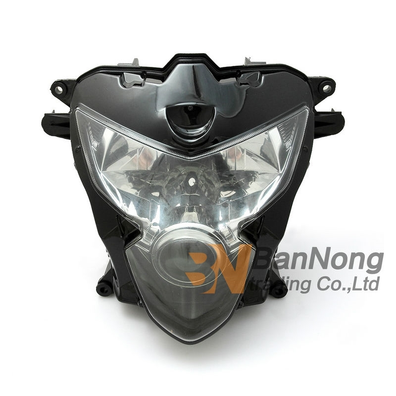 93.90$  Watch now - http://alihjh.worldwells.pw/go.php?t=32724264679 - Free Shipping Motorcycle Front headlight Front headlamps assembly For SUZUKI GSXR600/GSXR750 K4 04-05 year 93.90$