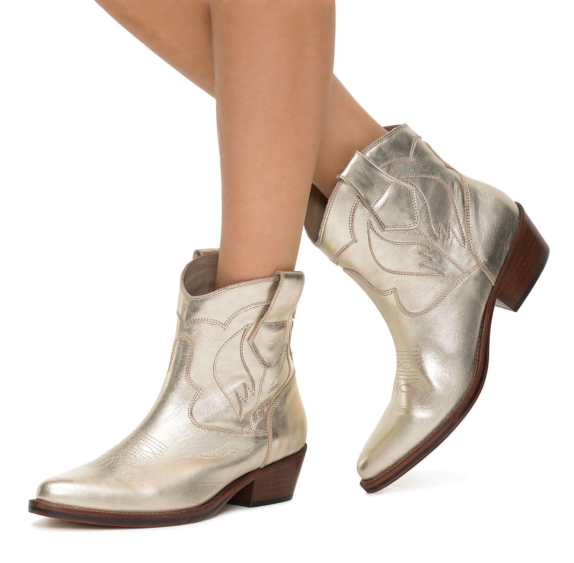Toral 11120 Enkellaarsjes Goud online bestellen shoe
