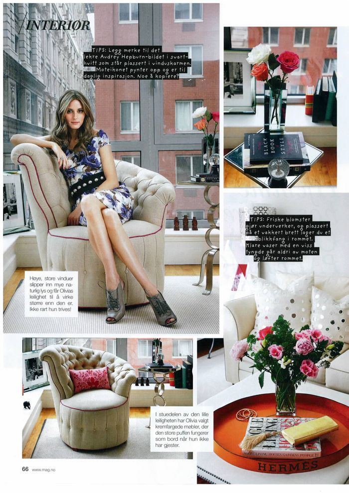 Olivia Palermo S Beautiful Ny Apartment She Has Since Moved To Brooklyn Not Shots Of Her New Place Yet