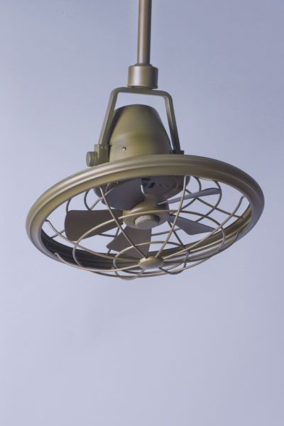 Space Saving Caged Ceiling Fans Hung In Corners And Hallways Circa 1910 And Could Be Swiveled