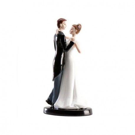 Couple De Maries Danse Romantique Mariage Figurine