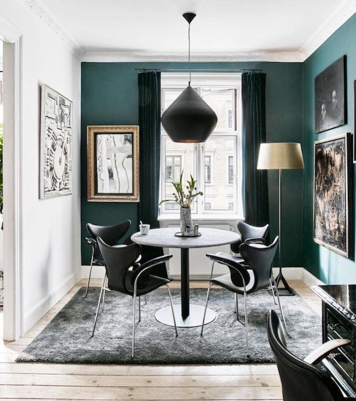 1001 conseils et id es comment adopter la couleur bleu. Black Bedroom Furniture Sets. Home Design Ideas