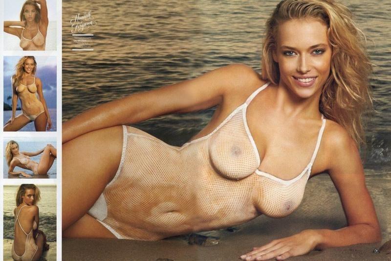 Si Badeanzug nackt Modelle