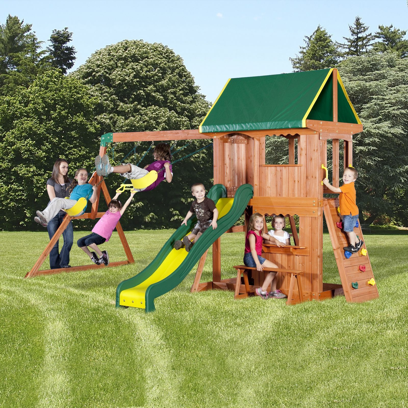 awesome Sears Deal: Backyard Discovery Somerset Swing Set ...
