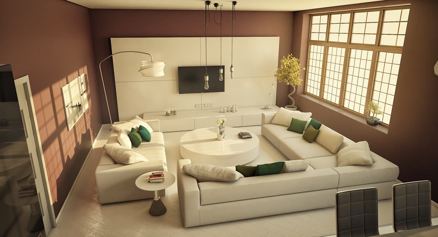 good interior design for home%0A   Stylish Living Rooms Design Shows Modern Shades