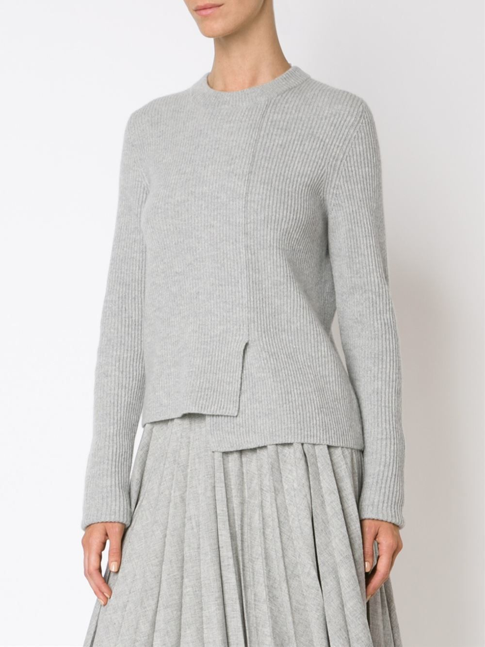 Proenza Schouler suéter asimétrico