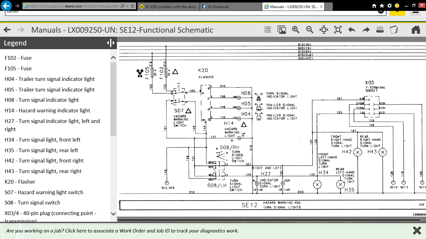 Jd 6200 Wiring Diagram In 2020