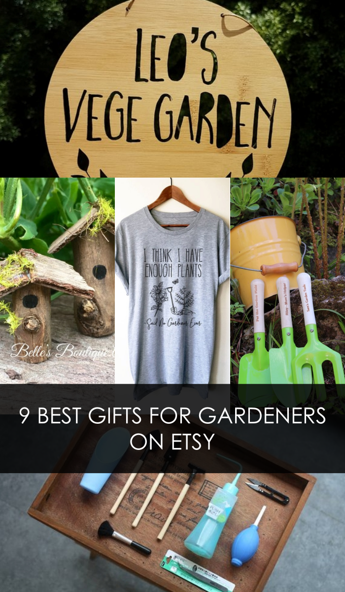 gifts for Gardeners Etsy| gardening gifts | gardening gifts for dads