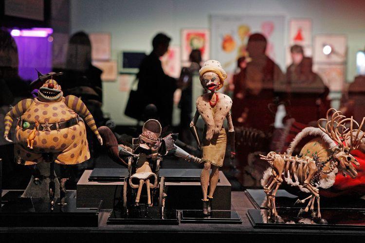 Tim Burton MoMA expo
