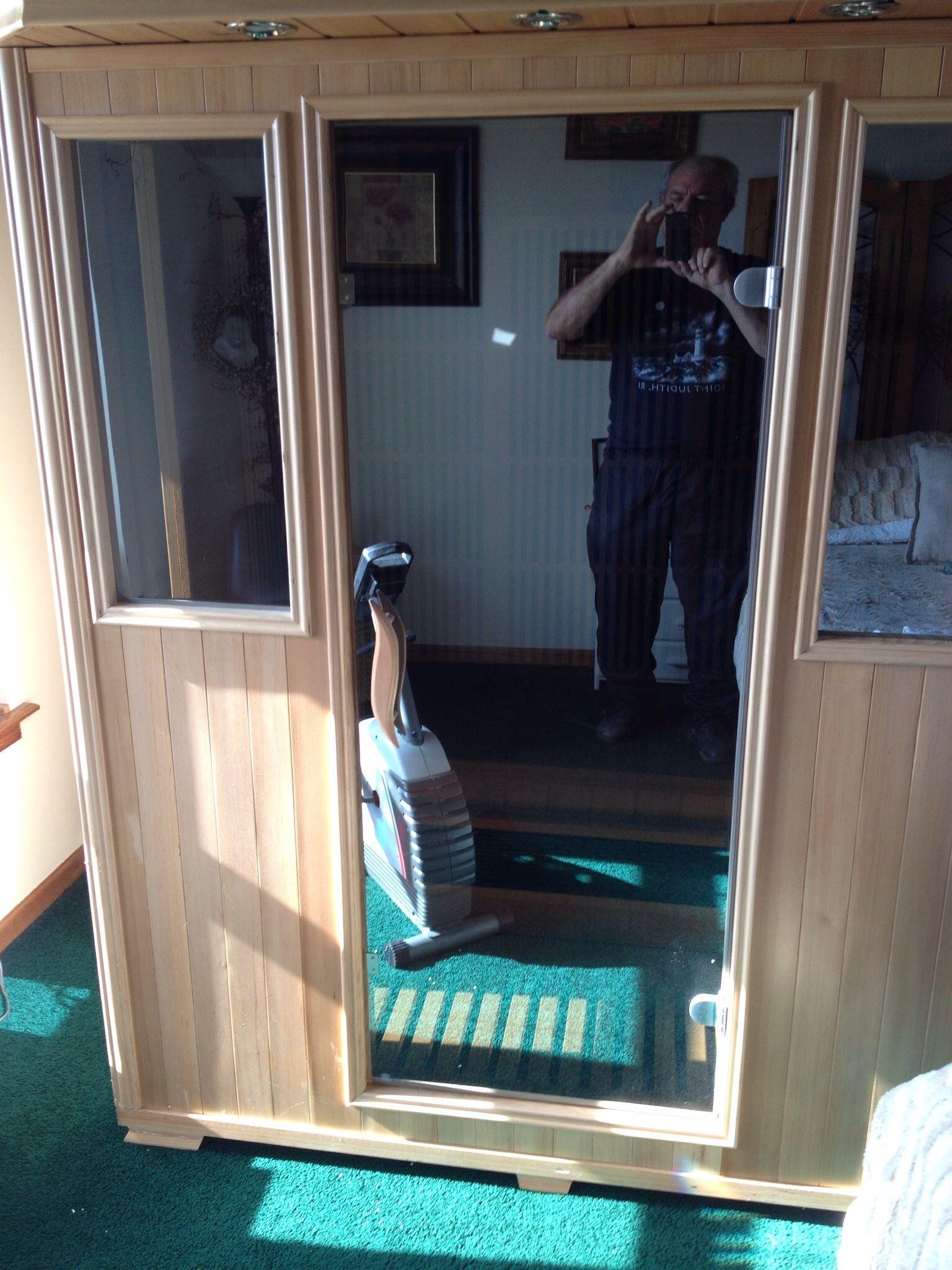 Good health saunas 3 person gsseries hemlock infrared