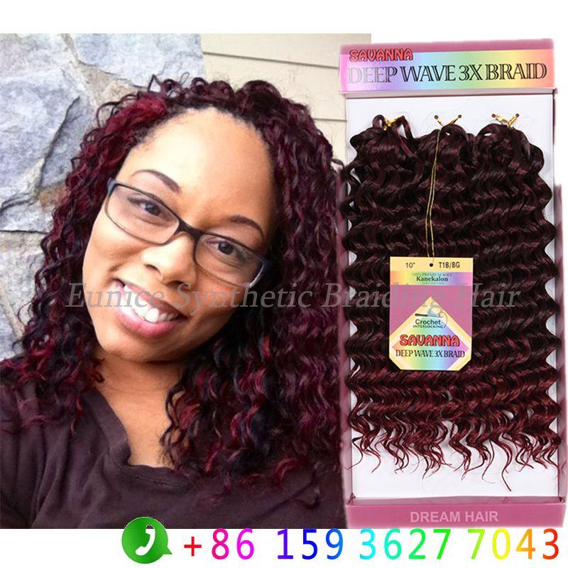 Freetress Crochet Braid Savanna Jerry Culy 3x Braid 10inch