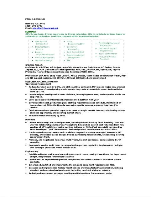 Resume Computer Skills Proficiency Resume Computer Skills Pinterest - examples of spreadsheet software programs