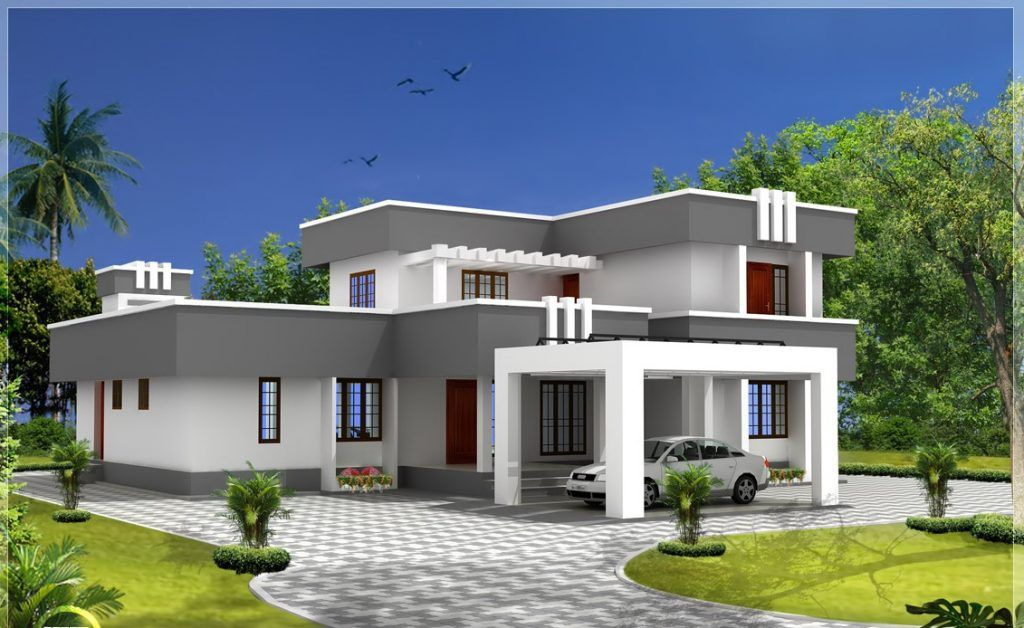 Picture Of Modern Flat Roof House Plans Flat Roof Design Flat Roof House Designs Flat Roof House