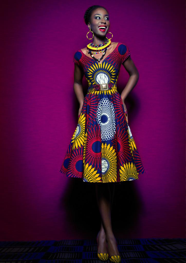 COLLECTION SPRING SUMMER 2015HOT MAMA AFRICA | Lena Hoschek ...