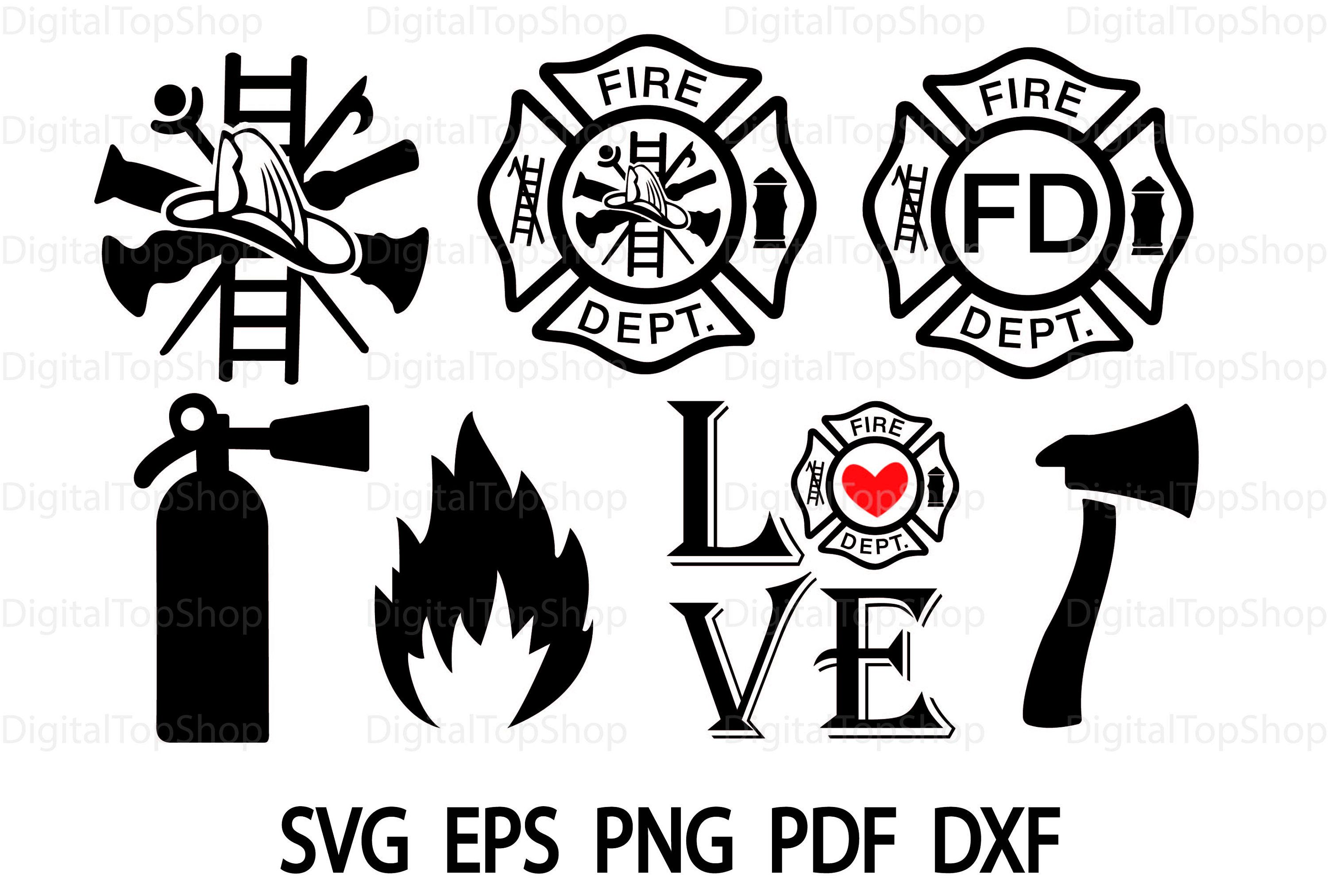 Fire Department Svg Fire Dept Svg Maltese Cross Svg Firefighter Svg Love Fire Department Svg Fire And Rescue Svg File Fire Ax Paramedic Svg