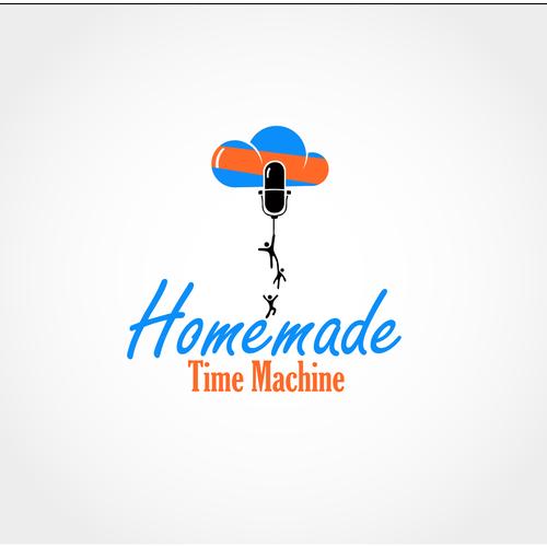 Homemade Time Machine Podcast Needs Logo So Maybe Somebody Listens We Hope Homemade Time Machine Homemade Time Machine Logo Design Logo Inspiration Logos
