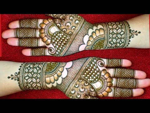 Easy Dulhan Mehndi Full Hand Mehndi Design Easy Bridal Mehndi Design Mehndi Designs 2020 Youtube Mehndi Designs Desain Henna Mehndi