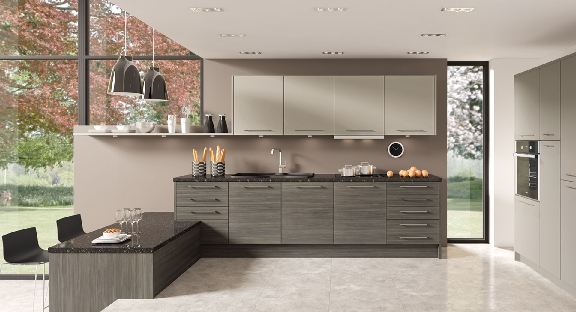 Kitwood Kitchens Lebsnon  Brands  Ikon  Collection  Baseone Amazing Kitchen Design Brands Decorating Design