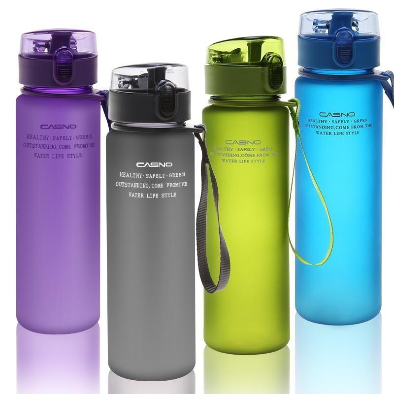 Portable Cycling Sport Shaker Bottle Plastic Bpa Free Water Drinking Bottle Cups