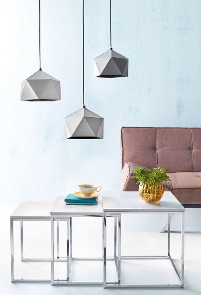 Pendelleuchte in BetonOptik Ideal fr stilvolle Minimalisten  Lampen  Lichter  OTTO